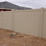 privacy tan fence